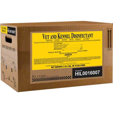 VET AND KENNEL DISINFECTANT 5GAL/PL