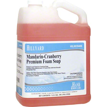 MANDARIN-CRANBERRY FOAM SOAP 1GAL/4/CS