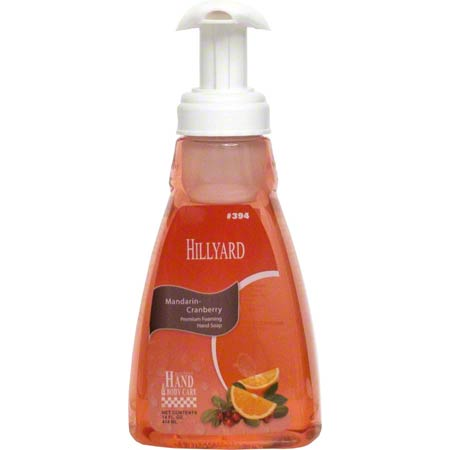 MANDARIN-CRANBERRY FOAM SOAP 14OZ PUMP BOTTLE 6/CS