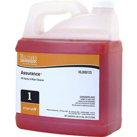 ASSURANCE SPRAY & WIPE 2.5L/4/CS