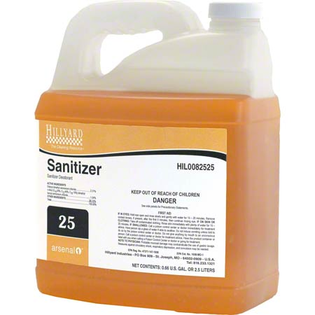 SANITIZER 2.5L 4/CS