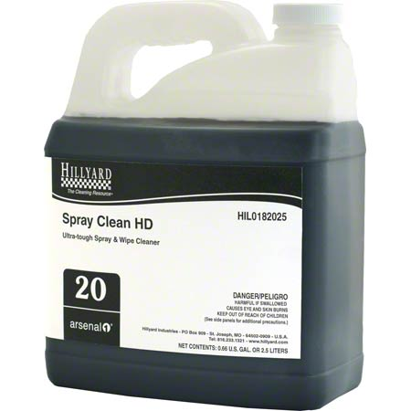 SPRAY CLEAN HD 2.5L 4/CS