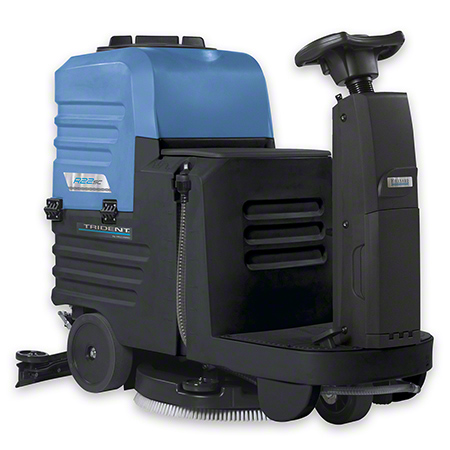 "R22SC TRIDENT 22"" RIDE ON DISC SCRUBBER W/O BATTERIES"