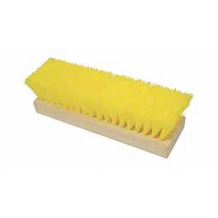 "10"" YELLOW DECK BRUSH"
