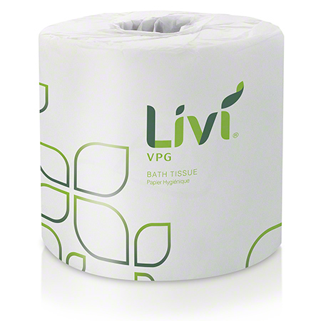 LIVI BASIC TISSUE 2 PLY 500 SHEETS 96/CS