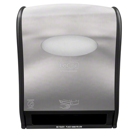 ELECTRONIC HARD WOUND ROLL TOWEL DISPENSER STAINLESS