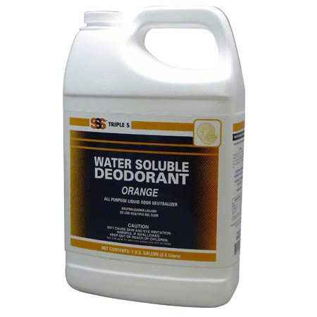 SSS WATER SOLUBLE ORANGE 1GAL/4/CS