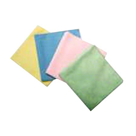 "SSS MICROFIBER CLOTH YELLOW 16""X16"" 24/CS"