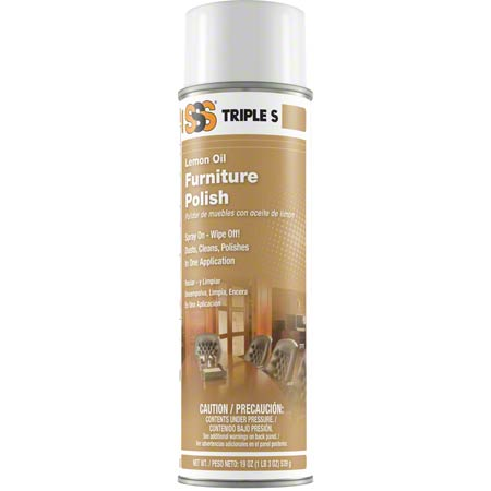 LEMON OIL FURNITURE AEROSOL 19OZ/12/CS