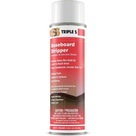 FOAMING BASEBOARD STRIPPER 19OZ/12/CS