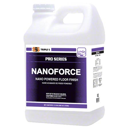 SSS NANOFORCE POWERED FLOOR FINISH 2.5GAL/2/CS