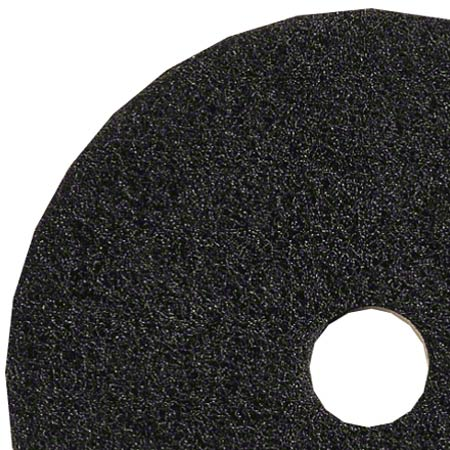 "15"" BLACK STRIP PADS 5/CS"