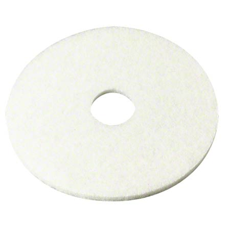 "13"" WHITE POLISH PADS 5/CS"