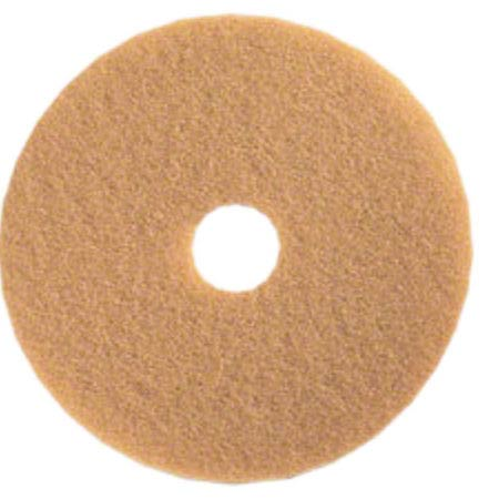 "20"" TAN BUFF PADS 5/CS"