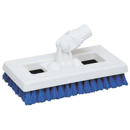 SWIVEL DECK BRUSH RED