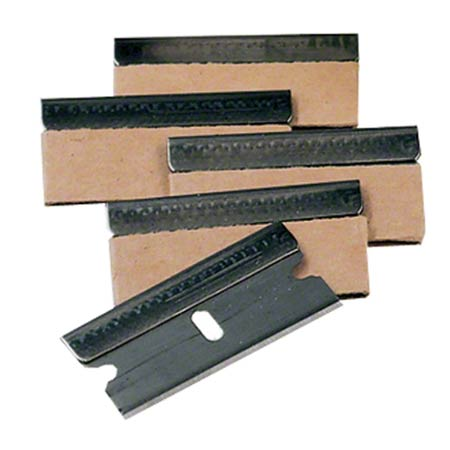 SAFETY SCRAPER BLADES 100/BX SINGLE EDGE SAFETY BLADES