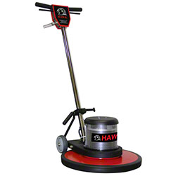 hawk hp1520-2s two-speed floor machine - 20"