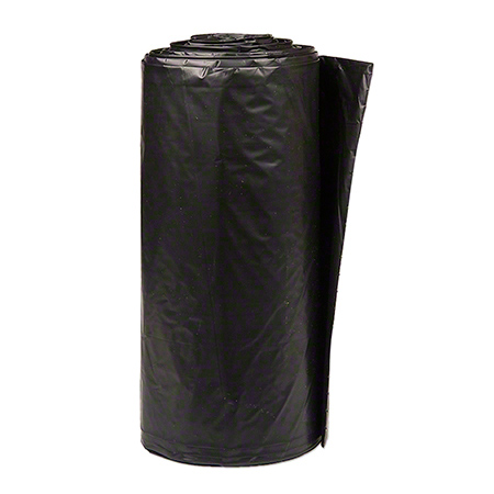Inteplast LLDPE Institutional Can Liner-38x58, 0.9 mil, BK