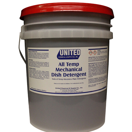 All Temp Mechanical Detergent - 5 Gal. Pail