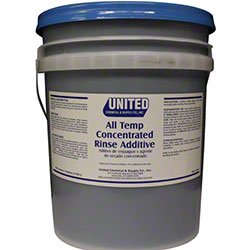 Concentrated Rinse Additive & All Temp Drying Agent - 5 Gal.