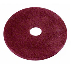 Americo Maroon Conditioning Floor Pad - 17""