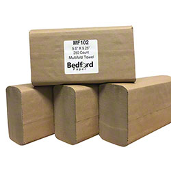 "Bedford Multifold Kraft Towel - 9.5"" x 9.25"""