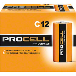 Duracell® Procell® Size C Alkaline Battery - 1.5 Volt