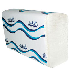 Windsoft Multi-fld  Twl 9.4x9.2 1ply Whi 16/
