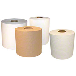 "Merfin® Signature White Roll Towel - 7.5"" x 800'"