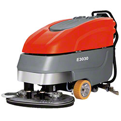 "Minuteman® E3030 Disc Brush Automatic Scrubber -30"", 275AH"