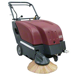 Minuteman® KS28BQP Battery Walk-Behind Carpet Sweeper -28""