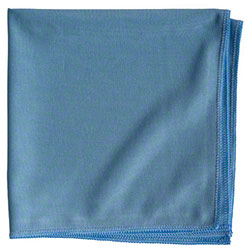 "NuFiber Glass Cleaning Cloth - 16"" x 16"", Blue"