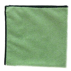 "NuFiber 300gsm Round Corner Cloth - 16"" x 16"", Green"