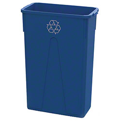 O Cedar® MaxiRough® Slim Container - 23 Gal., Blue