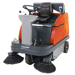 PowerBoss® Apex 49 Rider Sweeper - Gas, High Dump