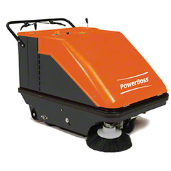 "PowerBoss® Collector 37 Walk-Behind Sweeper - 34"", Battery"