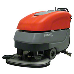 "PowerBoss® Phoenix 33 Walk Behind Scrubber - 33.5"", Quick"