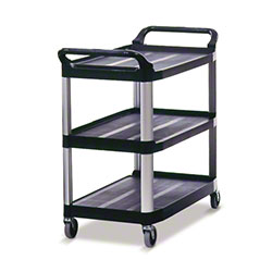 Rubbermaid® Xtra™ Utility Cart - 300 lb., Black