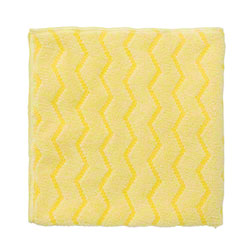 "Rubbermaid® HYGEN™ Microfiber Cloth - 16"" x 16"", Yellow"