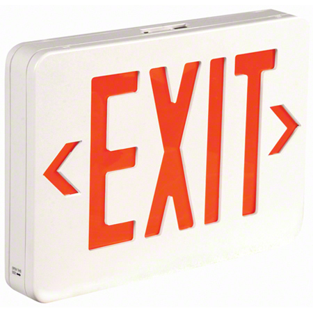 TCP Polycarbonate LED Exit Sign - 4 LED Watts
