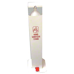 Foot Pedal Operated Hand Sanitizer Dispenser For Gallons - White
