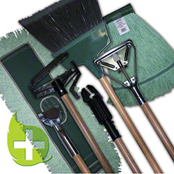Zephyr® Green+Pro™ Wide Band Loop Mop Head - Large