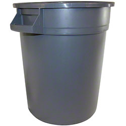 Impact® Basic Gator™ Container - 20 Gal., Gray