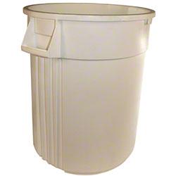 Impact® Advanced Gator™ Container - 44 Gal., White