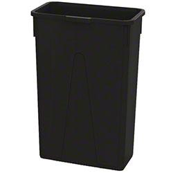 Impact® Value-Plus™ 23 Gallon Slim Container - Black