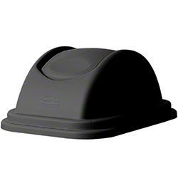 Rubbermaid® Untouchable® Top Fits 2957 Container - Black