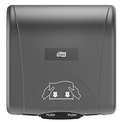 Tork® Mini Mechanical Hand Towel Dispenser - Black