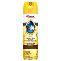 Pledge® Polish & Shine Multi-Surface Furniture Spray - 14.2 oz.