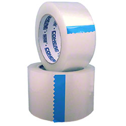 "Sta® Cohere™ 1082 Standard Carton Sealing - 2"" x 110 yd, Clear"