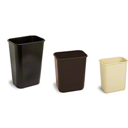 Continental Commercial Plastic Wastebaskets